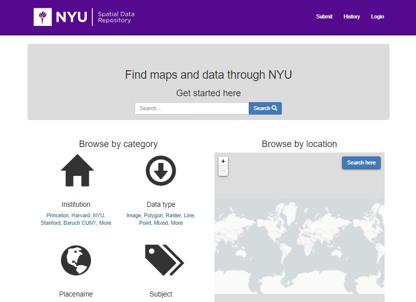 GIS – NYU Abu Dhabi Center for Digital Scholarship