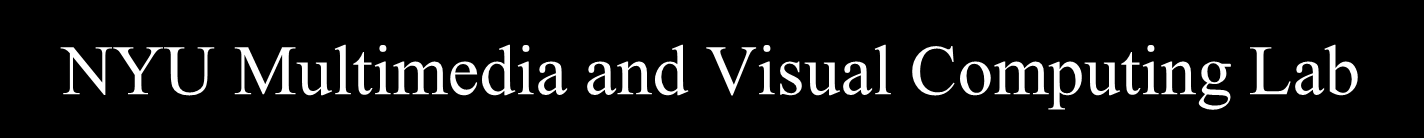 NYU Multimedia and Visual Computing Lab