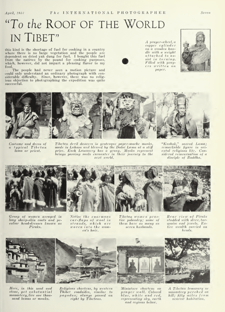 Cowling Tibet 1923