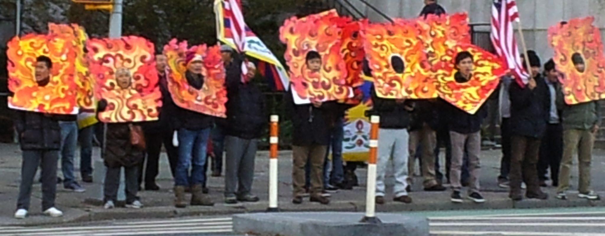 Protestors outside UN_GZ photo