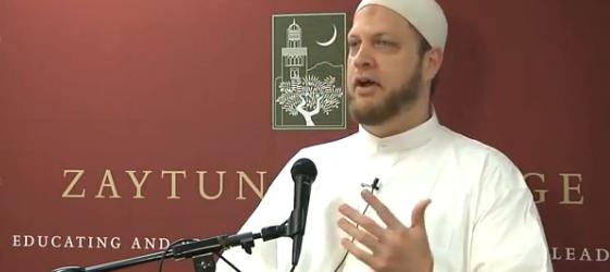Imam Suhaib Webb speaking at Zaytuna at Ramadan, via creativemuslims.com
