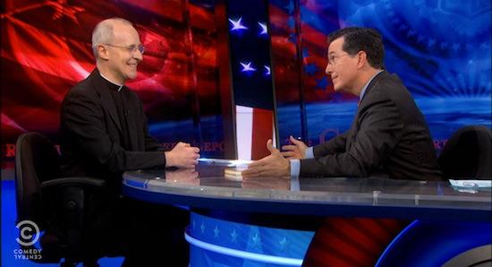 father-martin-on-the-colbert-report-1