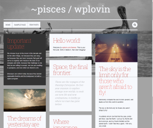 pisces   wplovin — Just another wplovin.com themes site